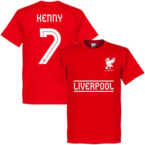 Retake Liverpool Kenny 7 Team T-Shirt - rot - XS