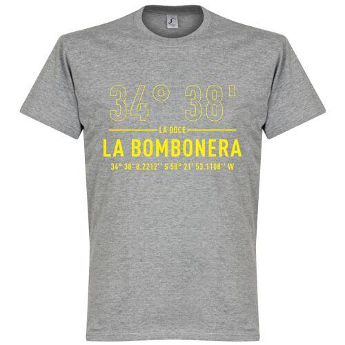 Retake Boca Home Koordinaten T-Shirt - grau - M