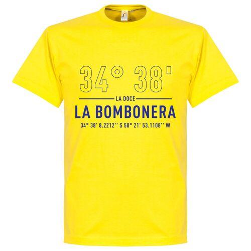 Retake Boca Home Koordinaten T-Shirt - gelb - XL