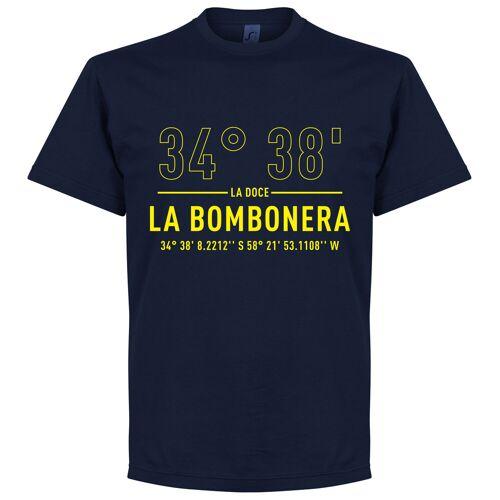 Retake Boca Home Koordinaten T-Shirt - navy - S