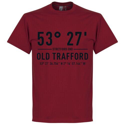 Retake Man Utd Home Koordinaten T-Shirt - rot - L