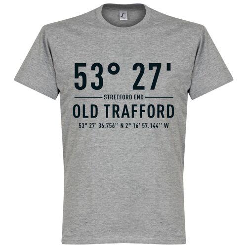Retake Man Utd Home Koordinaten T-Shirt - grau - L
