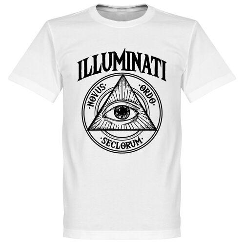 Retake Illuminati T-Shirt - weiß - XS