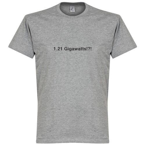 Retake 1.21 Gigawatts!?! T-Shirt - grau - L