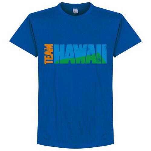 Retake Team Hawaii T-Shirt - blau - M