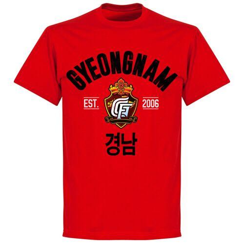 Retake Gyeongnam Established T-shirt - rot - XXL