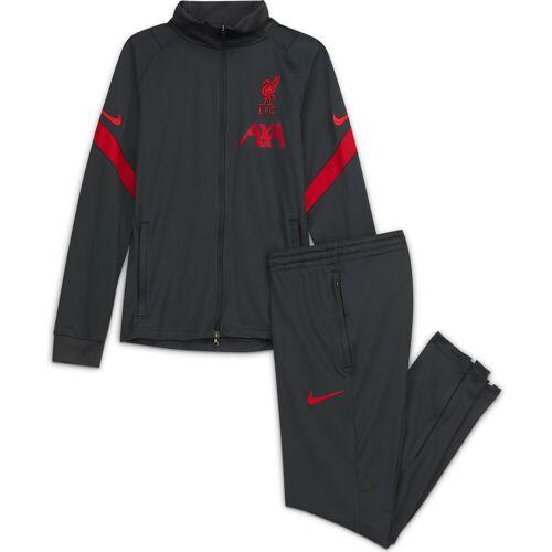Nike Liverpool BOYS Dry Strike Trainingsanzug - grau 2020-2021 - XL / 158-170 cm