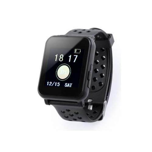 BigBuy Tech Smartwatch 144 LCD Bluetooth Schwarz 146147