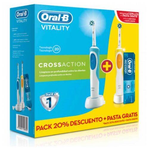 Oral-B Elektrische Zahnbürste Oral-B DUO VIT.CROSS 2 3 pcs
