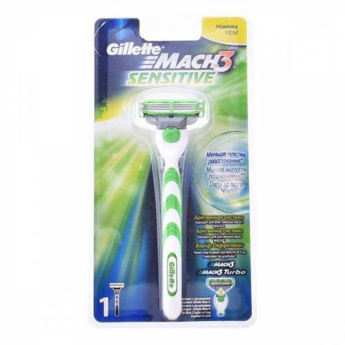Gillette Rasierer Mach 3 Sensitive Gillette 2 pcs