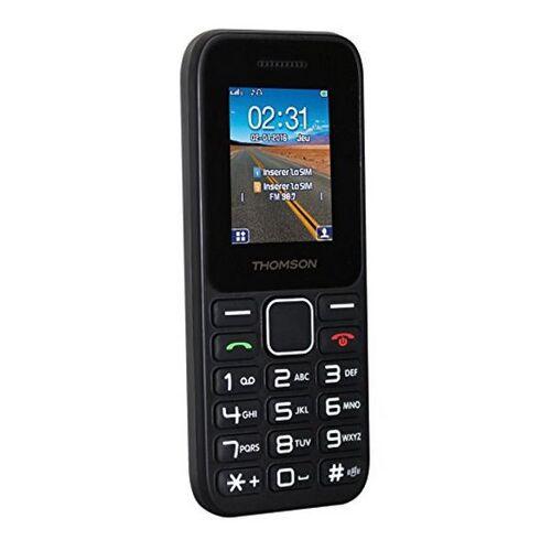Thomson Mobiltelefon Thomson TLINK11BLK 177 FM Bluetooth 600 mA...