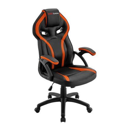 Mars Gaming Gaming-Stuhl Mars Gaming MGC118BO Schwarz Orange