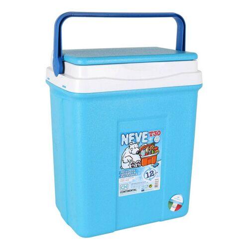 BigBuy Outdoor Tragbarer Kühlschrank 30 L Blau 38 X 26 x 465 cm