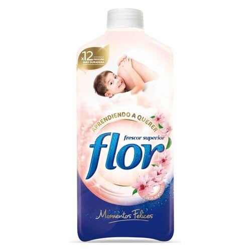 Flor Happy Moments Weichspüler 14 L 64 Waschgänge