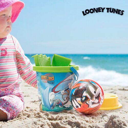 Looney Tunes Strandspielzeug mit Ball 5 Teile