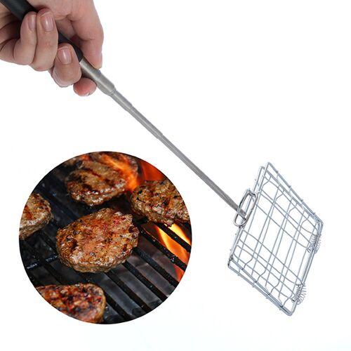 BigBuy BBQ Ausziehbarer Mini Grillrost