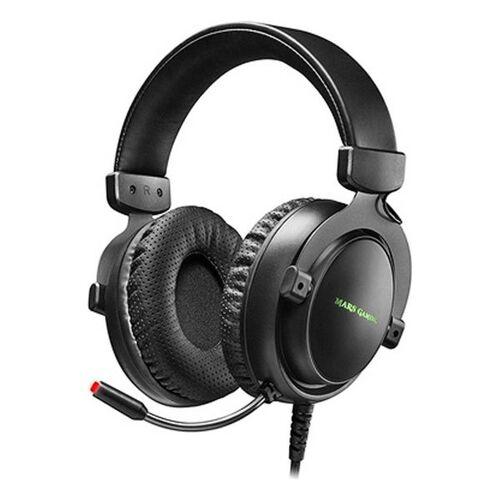 Mars Gaming Gaming Headset mit Mikrofon Mars Gaming MH4X LED 2 m Sc...
