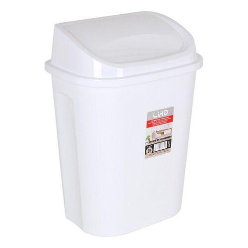 ECO Abfalleimer Lixo Weiß