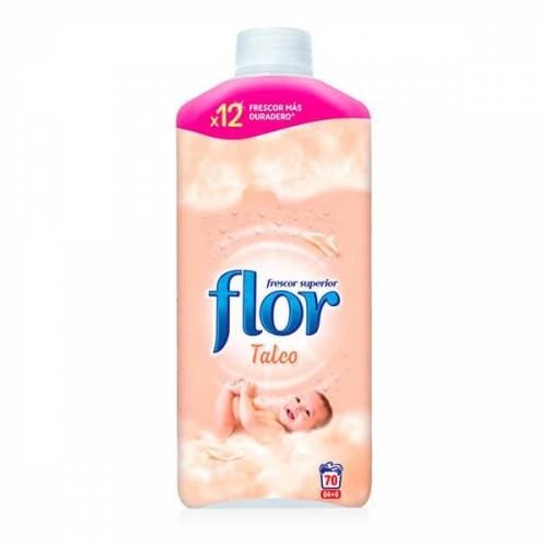 Flor Talkum Weichspüler Konzentrat 15 L 70 Waschgänge x3
