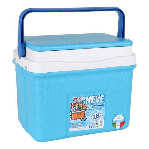 BigBuy Outdoor Tragbarer Kühlschrank 20 L Blau 38 X 26 x 31 cm