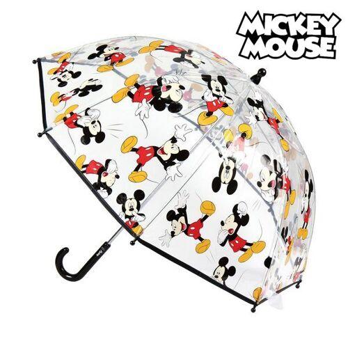 Mickey Mouse Bubble Regenschirm Mickey Mouse Durchsichtig ø 45 cm