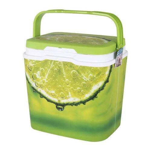 BigBuy Outdoor Tragbarer Kühlschrank Grün 25 L