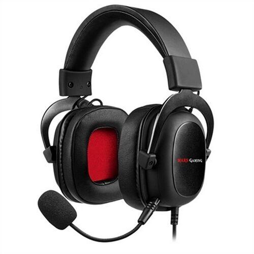 Mars Gaming Gaming Headset mit Mikrofon Mars Gaming MH5 3.5 mm Schwarz