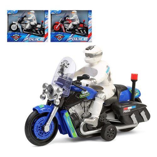 BigBuy Fun Motorrad Police 112701