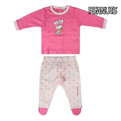 Snoopy Schlafanzug Für Kinder Snoopy Rosa