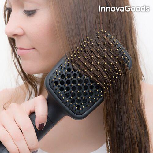 InnovaGoods Elektrische Haarglättungsbürste mit Trockenfu...