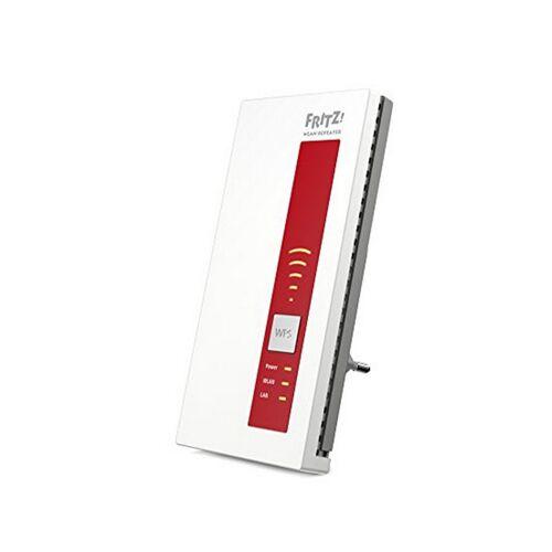 Fritz! Schnittstellen-Repeater Fritz 1750E 5 GHz WIFI WPS Weiß