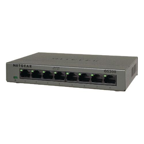 Netgear Schalter für das Büronetz Netgear GS308-100PES 8P Gigabit