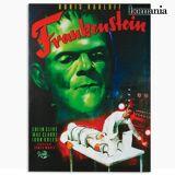 BigBuy Home Frankenstein Leinwanddruck 50 x 70