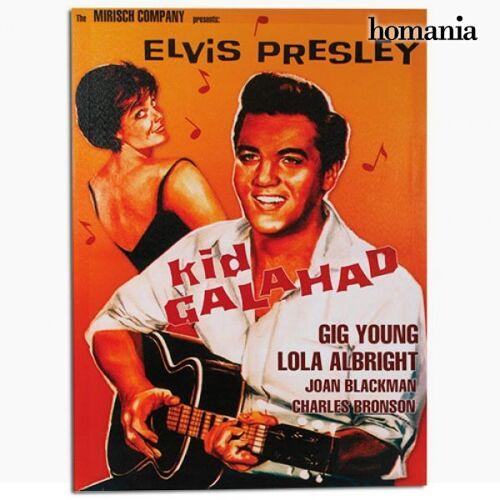 BigBuy Home Elvis Presley Kid Galahad Leinwanddruck 50 x 70