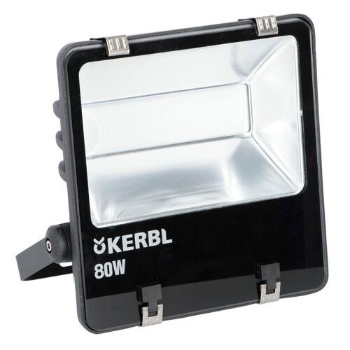 KERBL LED-Außenstrahler LED-Außenstrahler 80 Watt ohne Bewegung...