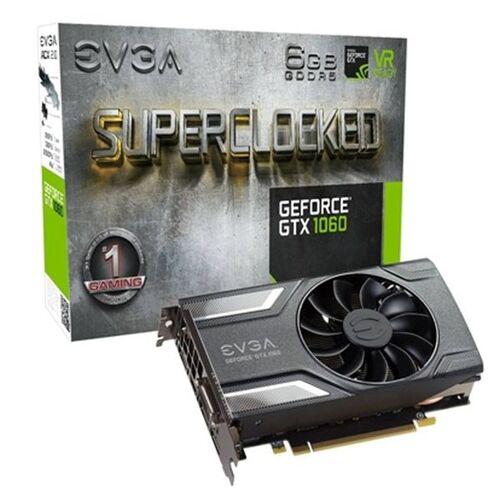 Evga Gaming-Grafikkarte EVGA 06G-P4-6163-KR 6 GB DDR5 ACX2.0