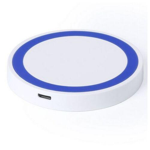 BigBuy Tech Wireless Smartphone Qi Ladegerät LED 145324 Rot