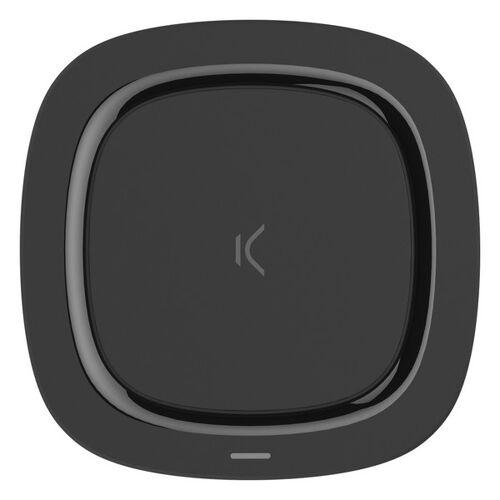 BigBuy Tech Wireless Smartphone Qi Ladegerät Schwarz
