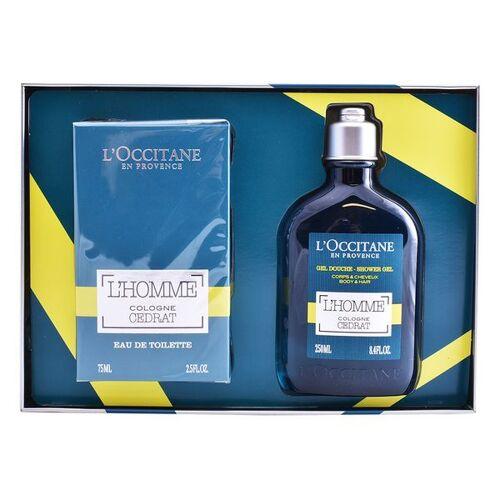 L'occitane Set mit Herrenparfum Eau De Cedrat Loccitane 2 pcs