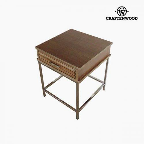 Craftenwood Nachttisch Teakholz 45 x 45 x 55 cm by Craftenwood