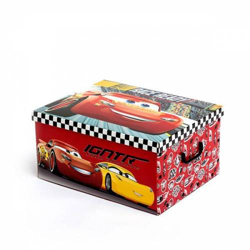 Cars Faltbare Spielzeugbox 50 x 39 cm