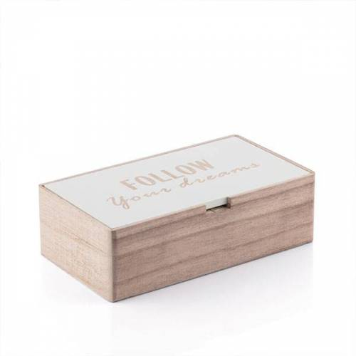 BigBuy Home Dreams Holzbox
