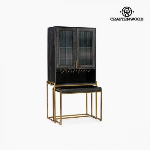 Craftenwood Vitrine Mdf 88 x 45 x 180 cm by Craftenwood