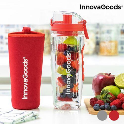 InnovaGoods Infruitssion XL Sportflasche mit Fruchteinsatz