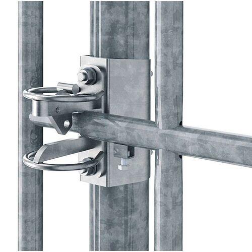 KERBL Weidetore verstellbar 110 cm Schlosshalter für Torpfosten