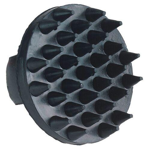 KERBL Gumminoppenstriegel schwarz