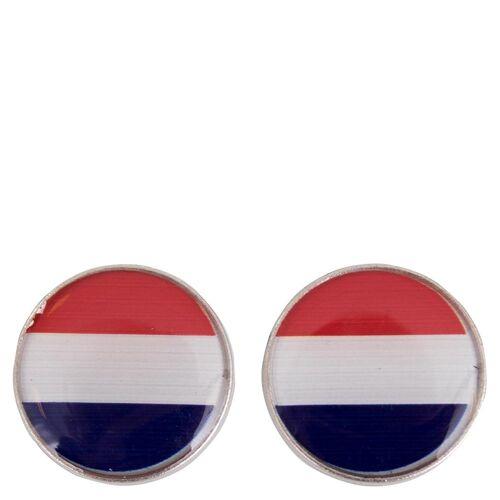BR magnetischer Knopf mit Fahne silverrwb