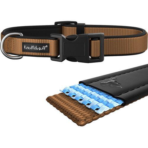 Knuffelwuff Hundehalsband Neopren gepolstertes Halsband ...