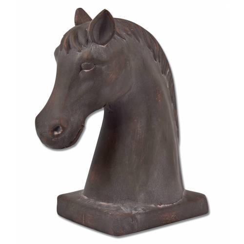 Unknown Pferdekopf auf Sockel