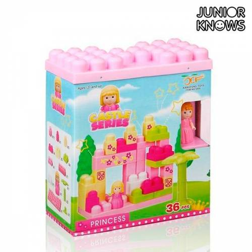 BigBuy Fun Castle Bauklotzspiel 36 Teile